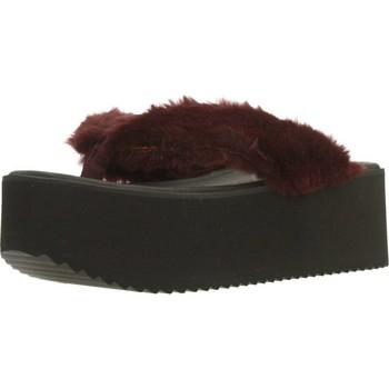 Zapatos Mujer Chanclas Clover 89828 Rojo