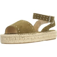 Zapatos Mujer Alpargatas Clover 7936C Verde