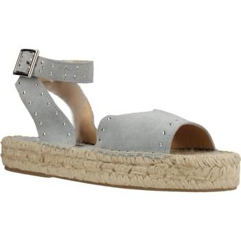 Zapatos Mujer Alpargatas Clover 7936C Azul