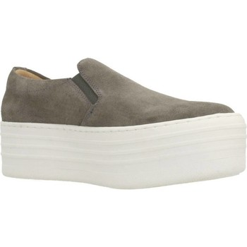 Zapatos Mujer Slip on Clover 89844 Gris
