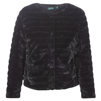 textil Mujer Abrigos Lauren Ralph Lauren FAUX CHUBBY Negro