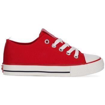 Zapatos Niña Zapatillas bajas Chika10 & Chiko10 Kids CITY KIDS 01 Rojo/Red