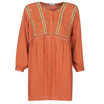 textil Mujer Vestidos cortos Betty London LOULIA Naranja