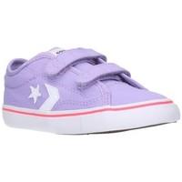 Zapatos Niño Zapatillas bajas Converse 764442C Niño Morado violet
