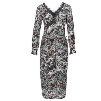 textil Mujer vestidos largos Heimstone LAKE Negro / Multicolor