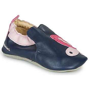 Zapatos Niña Pantuflas Catimini CITOLA Marino / Rosa