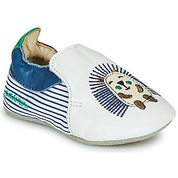 Zapatos Niño Pantuflas Catimini COFFI Blanco / Azul / Verde