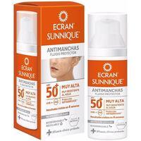 Belleza Protección solar Ecran Sunnique Antimanchas Facial Spf50+  50 ml