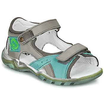 Zapatos Niño Sandalias GBB EROPE Gris / Azul