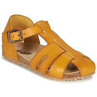 Zapatos Niño Sandalias GBB FREDERICO Mostaza