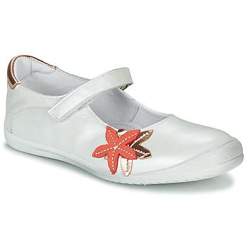 Zapatos Niña Bailarinas-manoletinas GBB EMILIETTE Blanco