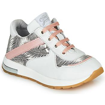 Zapatos Niña Zapatillas bajas GBB LELIA Blanco / Negro / Rosa