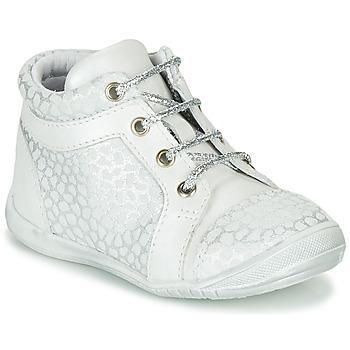 Zapatos Niña Zapatillas altas GBB OMANE Gris / Blanco