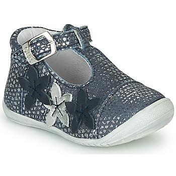 Zapatos Niña Bailarinas-manoletinas GBB AGATTA Azul