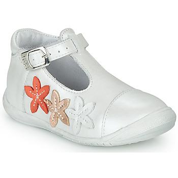 Zapatos Niña Bailarinas-manoletinas GBB AGATTA Blanco