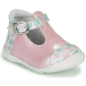 Zapatos Niña Bailarinas-manoletinas GBB MERTONE Rosa