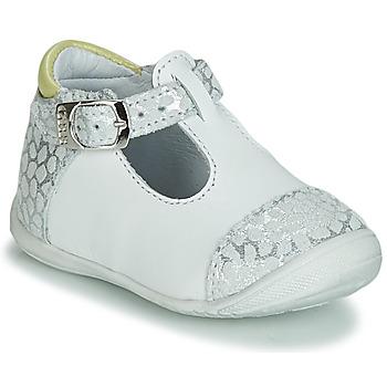 Zapatos Niña Bailarinas-manoletinas GBB MERTONE Blanco