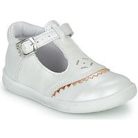 Zapatos Niña Bailarinas-manoletinas GBB AGENOR Blanco