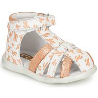 Zapatos Niña Sandalias GBB AGRIPINE Naranja