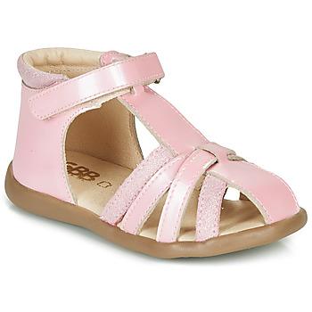 Zapatos Niña Sandalias GBB AGRIPINE Rosa