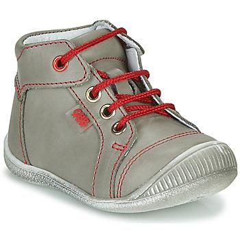 Zapatos Niño Botas de caña baja GBB PARGA Gris