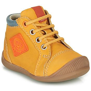 Zapatos Niño Zapatillas altas GBB TARAVI Amarillo