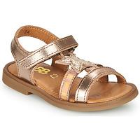 Zapatos Niña Sandalias GBB OLGA Rosa / Gold