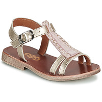 Zapatos Niña Sandalias GBB LAZARO Oro