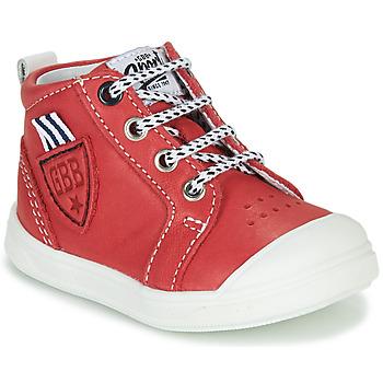 Zapatos Niño Zapatillas altas GBB GREGOR Rojo