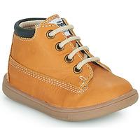 Zapatos Niño Zapatillas altas GBB NORMAN Cognac