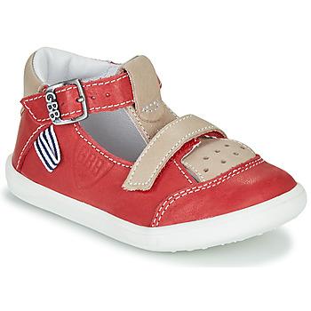 Zapatos Niño Sandalias GBB BERETO Rojo