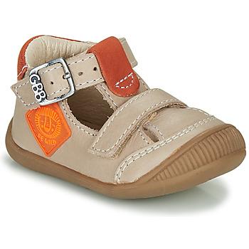 Zapatos Niño Sandalias GBB BOLINA Beige / Naranja