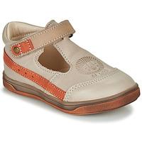 Zapatos Niño Sandalias GBB ANGOR Beige / Naranja