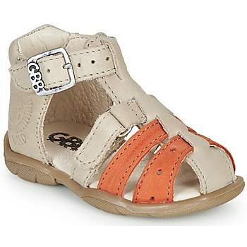 Zapatos Niño Sandalias GBB BORETTI Beige / Naranja