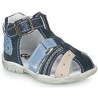 Zapatos Niño Sandalias GBB BYZANTE Azul