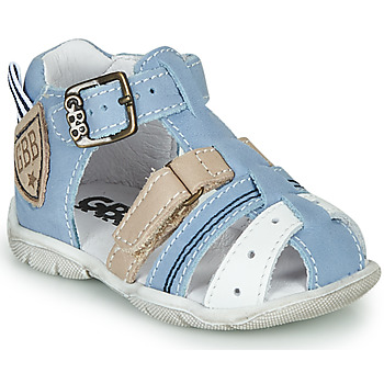 Zapatos Niño Sandalias GBB BYZANTE Azul / Gris