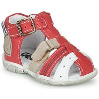 Zapatos Niño Sandalias GBB BYZANTE Rojo