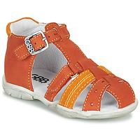 Zapatos Niño Sandalias GBB ARIGO Naranja
