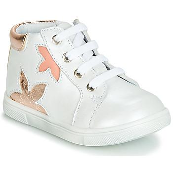 Zapatos Niña Zapatillas altas GBB ALEXA Blanco