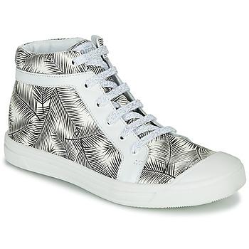 Zapatos Niña Zapatillas altas GBB NAVETTE Negro / Blanco
