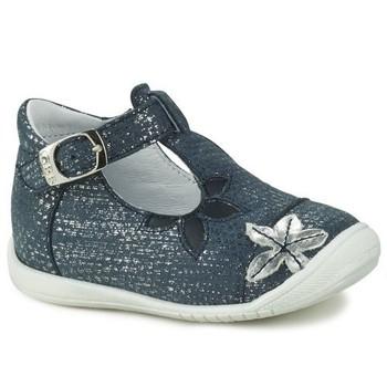 Zapatos Niña Bailarinas-manoletinas GBB ANAXI Azul
