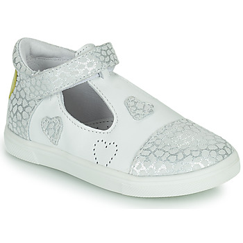Zapatos Niña Bailarinas-manoletinas GBB ANISA Blanco
