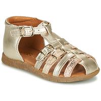 Zapatos Niña Sandalias GBB PERLE Oro
