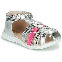 Zapatos Niña Sandalias GBB PERLE Plata