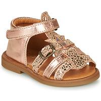 Zapatos Niña Sandalias GBB CARETTE Rosa / Gold