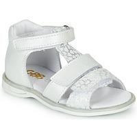Zapatos Niña Sandalias GBB NAVIZA Blanco