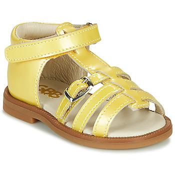 Zapatos Niña Sandalias GBB ANTIGA Amarillo