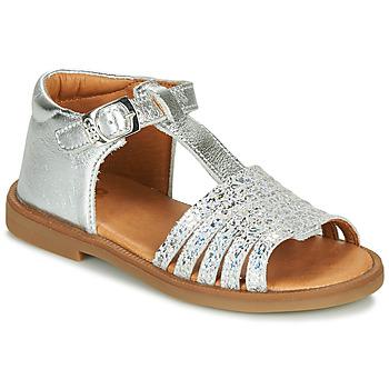 Zapatos Niña Sandalias GBB ATECA Plata