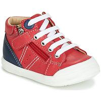 Zapatos Niño Zapatillas altas GBB ANATOLE Rojo