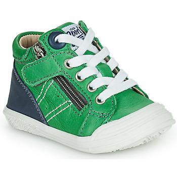 Zapatos Niño Zapatillas altas GBB ANATOLE Verde